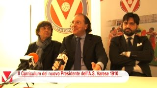 preview picture of video 'PIERPAOLO CASSARA' - Presidente A.S. Varese 1910'