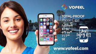 Proving the quality of the VoFeel Protective Case for the iPhone in Terra Natura, Benidorm