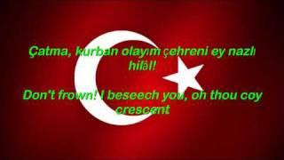 Istiklal Marsi - Turkey National Anthem English lyrics