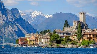 Garda lake, Italy: Sirmione, Malcesine, Gardone Riviera, Garda