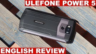 Ulefone Power 5 Review: Impressive Battery Life (English)