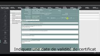 Créer des modèles de numérotation de certificats (V2 Août 19)