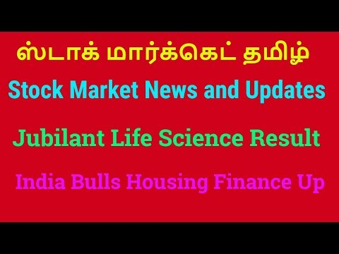 Stock Market Updates and News | Jubilant Life Sciences Stock Result | Tamil Share