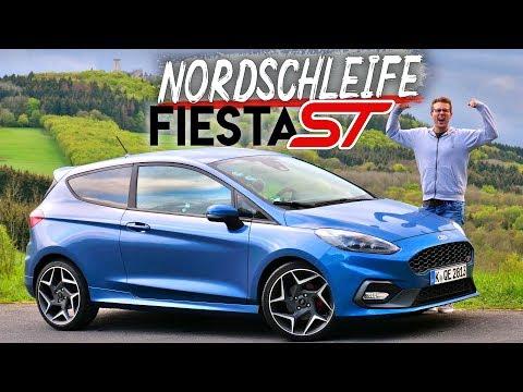 FORD FIESTA ST 2019 Review und Fahrbericht auf der Nordschleife! Fahr doch