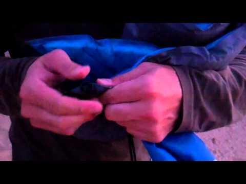 Colchoneta autoinflable - Tutorial