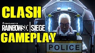 Rainbow Six Siege Clash Gameplay Trolling Noobs New Operator Grim Sky R6