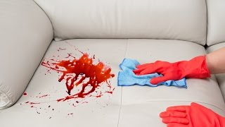 How To Remove a Stain from a Sofa