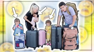 Traveling With 3 UNDER 3 Is VERY HARD!!