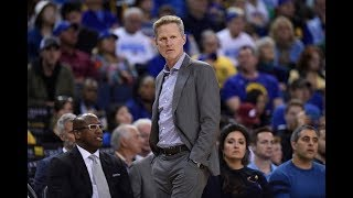 Golden State Warriors coach Steve Kerr says team goes through a lot staying on top