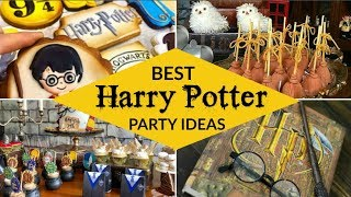 40 Best Harry Potter Party Ideas & Supplies!