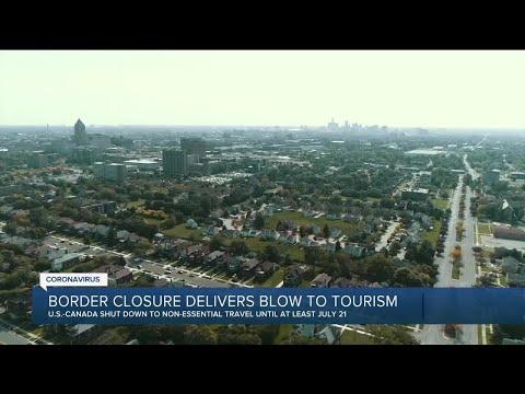Border closure delivers blow to Detroit tourism