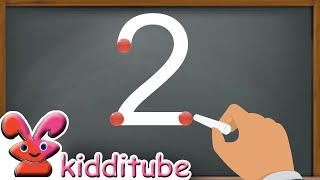 How to Write Numbers 1-10   How to Write Numbers 1234.   Kids Learning Numbers 1-10.