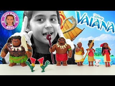 DISNEY VAIANA KINOFILM - Hasbro Entdeckerfreunde Spielset | CuteBabyMiley