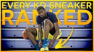 Every Kevin Durant Sneaker Ranked