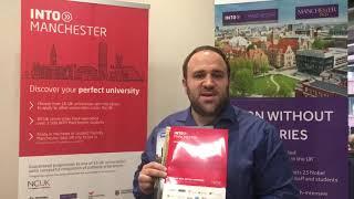 INTO Manchester на выставке Ай Класс Высшее образование за рубежом - 2 февраля 2020
