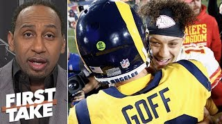 Rams vs. Chiefs was the greatest regular season game Stephen A. Smith has ever seen | First Take