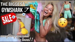 HUGE GYMSHARK SALE TRY ON!!! EVERYTHING YOU NEED TO GRAB!