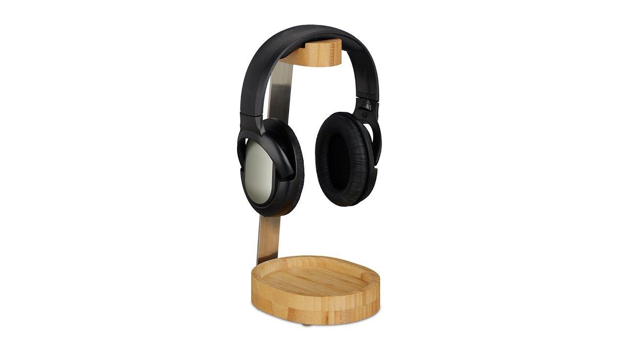 Video von: Kopfhörer Ständer Bambus