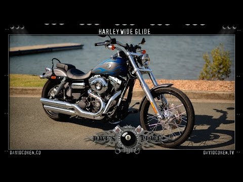 2014 H-D Wide Glide Test Ride