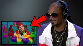 Rappers React To 6IX9INE New Song GOOBA...