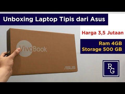 Unboxing Laptop Asus Vivobook E203NAH Cuma 3,5 Juta Rupiah !!! | ReviewGadgetIndonesia