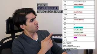 Create the PERFECT USMLE STEP 1 STUDY SCHEDULE