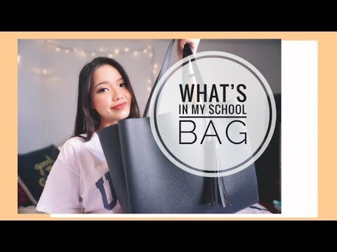 🎒 TRÂN MANG GÌ ĐI HỌC?? 😉   What's In My SCHOOL BAG 2018    Diane Le