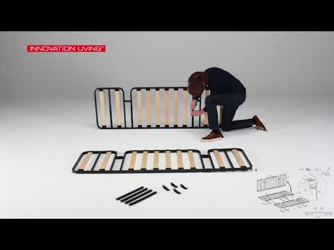 Video demonstrating how to assemble Colpus sofa bed