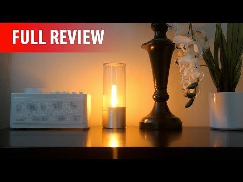 Xiaomi Yeelight Candela (Smart Mood Candlelight) - Full Review!