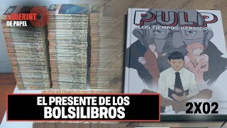 PULP: El universo oculto de los bolsilibros en España, con Jordi Pastor