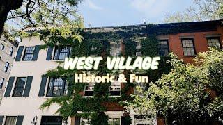 West Village in Manhattan Walking Tour, NYC | Instagram Spot & Iconic Film Location