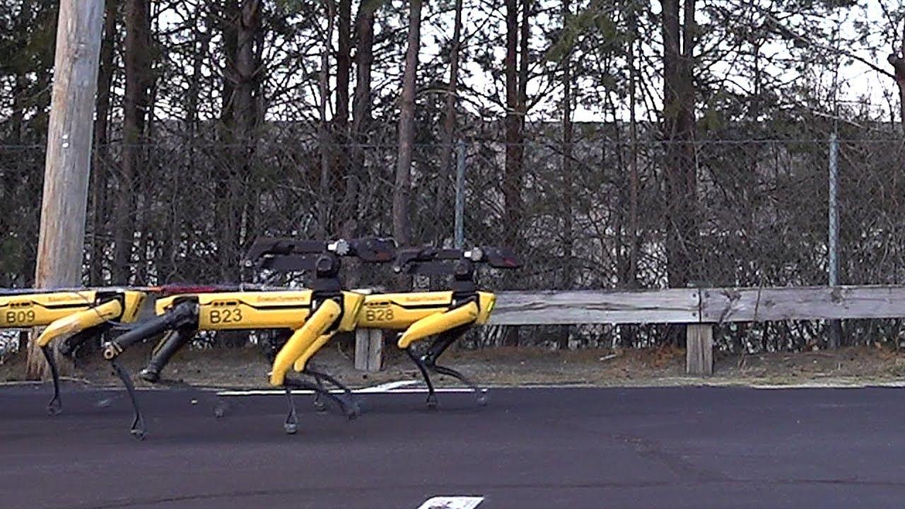 Kiek robotų reikia norint traukti sunkvežimį? Šis vaizdas jus nustebins