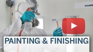 How it's done: Painting parts in a warm and humid environment
