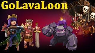 Атаки GoLavaLoon на 9 тх. Как сносить 9 тх на 3 звезды шарами с гончими и героями. Clash of Clans