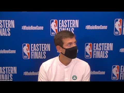 Brad Stevens Postgame Interview | Game 1 | Boston Celtics vs Miami Heat | September 15, 2020