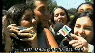Llegada de Backstreet Boys a Viña - Febrero 1998 - Meganoticias