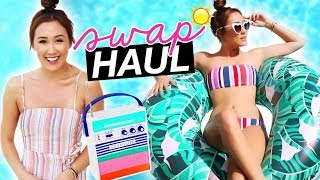 SUMMER SWAP HAUL! W/ SarahJaneBetts! 🇦🇺