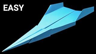 Como hacer un avion de papel que VUELA - aviones de papel que vuelan MUCHO y ALTO . Luise