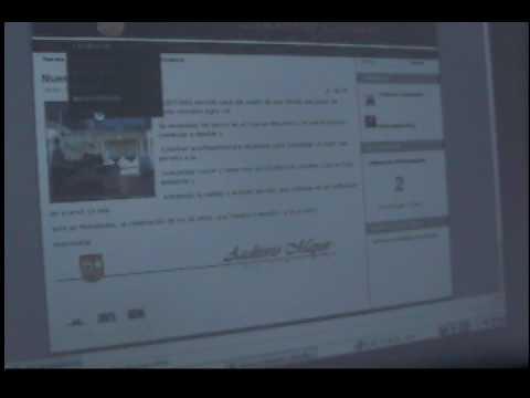 Entrega de Proyectos Finales Joomla Webmaster.