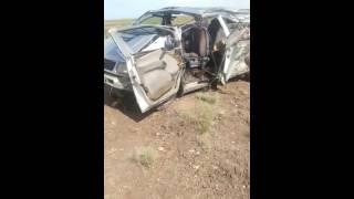 Жестокая авария в Балхаше 23 июня 2016