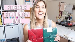PRODUCT HAUL // Florence Stationery  HAUL + Leather Journal Review // CREATE WANDER INSPIRE