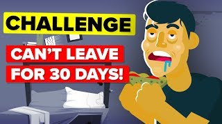 I Didn't Go Outside For 30 Days And This Is What Happened - Funny Challenge