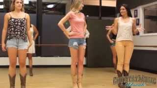 LINE DANCING LESSONS with Country Music Minute