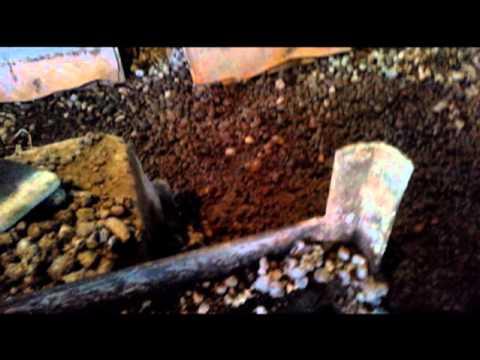 Рельсы для телеги с поддоном под вибростанок-несушку