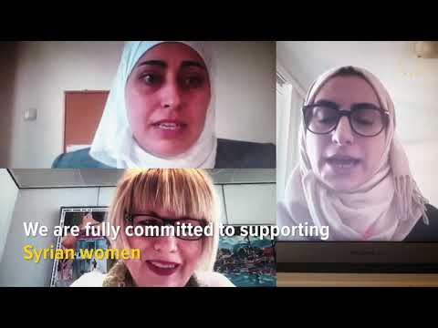 Empowering Syrian women to participate in the peace process