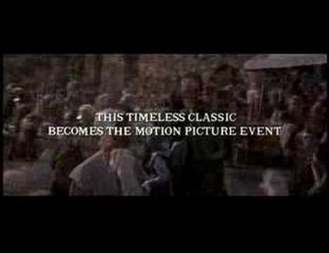 Les Miserables Movie Trailer