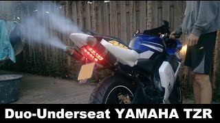 Yamaha-TZR Project/Story   Duo-Underseat   50cc   Tuning   2008 (Derbi, Rieju, Aprilia,)