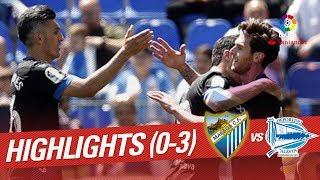 Otra pesadilla en la Rosaleda ante el Deportivo Alavés (0-3)