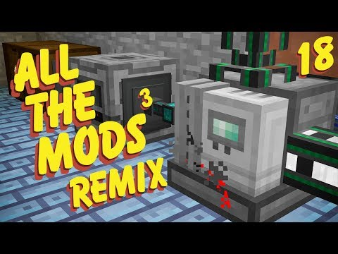 All the Mods 3: Remix - Shader & Texture Pack Test - игровое