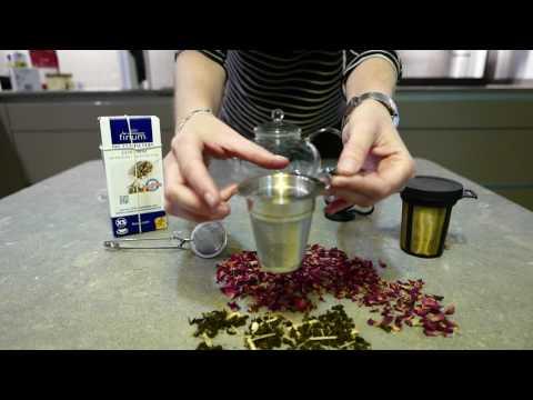 filtros de té